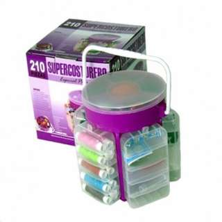 Supercosturero 210-Pieces Multi Function Sewing Kit