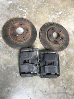 Honda civic Fd2.0 break dics with break pad