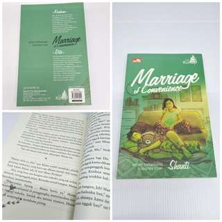 NOVEL ROMANCE MARRIAGE OF CONVIENCE free ebook