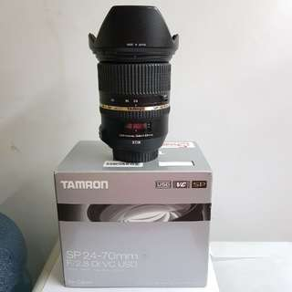 Tamron SP 24-70mm f2.8 VC for Canon