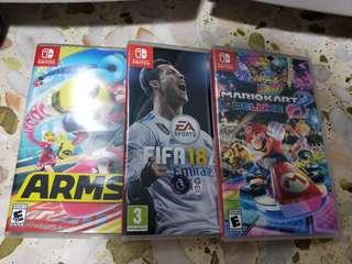 Nintendo switch Mario arms FIFA 18