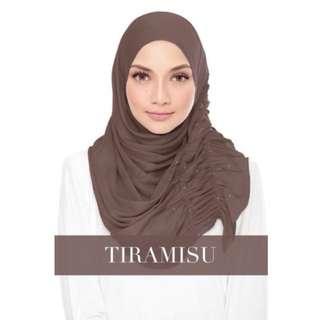 Semi-Instant Hijab BELLA Tiramisu