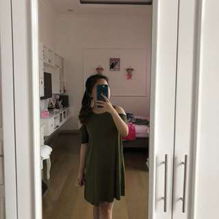 (REPOST) P&B army dress