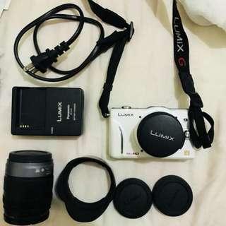 🚚 Panasonic LUMIX GF2 單眼相機雙鏡組❄️呀
