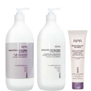 Rpr brighten my blonde series ( for bleach hair)
