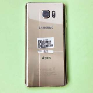 Samsung Note 5 with free genuine leather case
