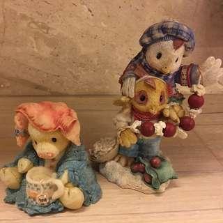 🚚 可愛精緻娃娃裝飾品(2隻)