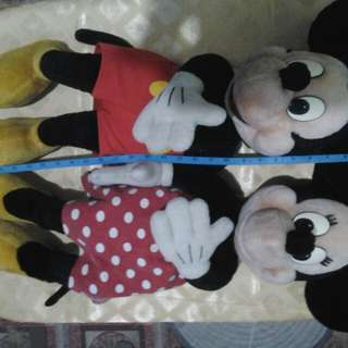 minnie and mickey repriced!!