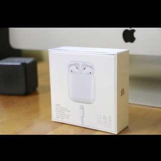 公司抽獎品 Apple  AirPods 蘋果 無線 耳機 不議