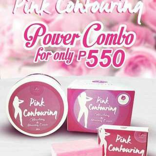 Pink Contouring Soap (also available bleaching cream)