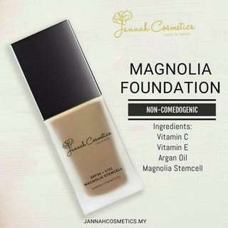 Magnolia Foundation by Jannah Cosmetic