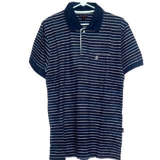 Volcom strip polo shirt