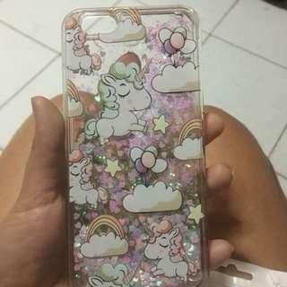 iPhone 6/6s Unicorn Glitter Casing