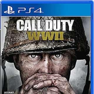 PS4 Call of Duty WW2 DIGITAL