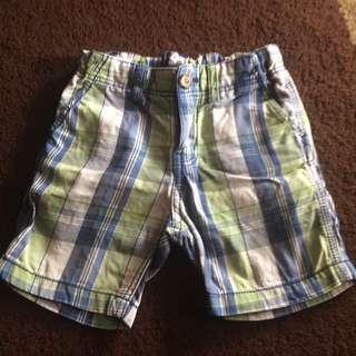 H&M Short Pants Size 2tahun