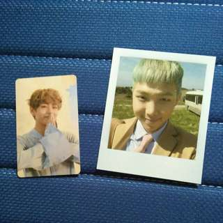 [WTT] BTS Love Yourself V pc and Young Forever RM pc