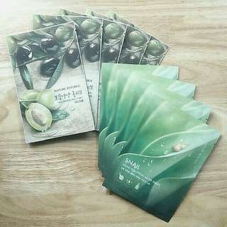 Nature Republic Facial Masks