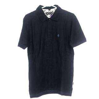 Volcom black polo shirt