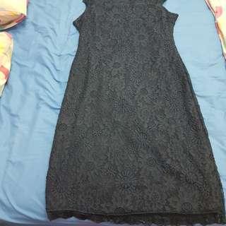 Plus size BN Navy Lace Dress