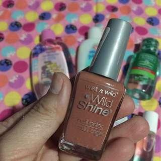 Wet n wild nail polish