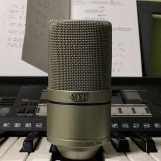Condenser Microphone & Audio Interface Bundle