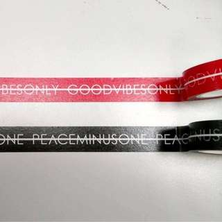 Tape inspired by Peaceminusone