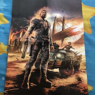 Mad Max limited edition poster ☠️