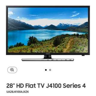 "Samsung 28"" HD Flat TV J4100 Series 4 UA28J4100AJXZ"