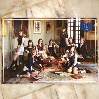 TWICE SIGNAL ~ Official Posters (Blue/Pink) Buy 2 at Rm20