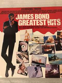 James Bond Greatest Hits LP