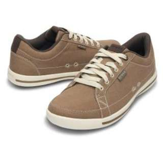 Crocs Men Evercourt Sneaker Lace Up Canvas Shoe Available in Size M12 and M8.5