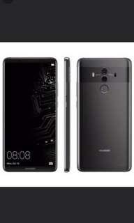 收新Huawei Mate 10 Pro 灰色128gb(可少議)