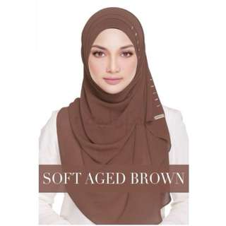Semi-Instant Queen Warda Soft Aged Brown