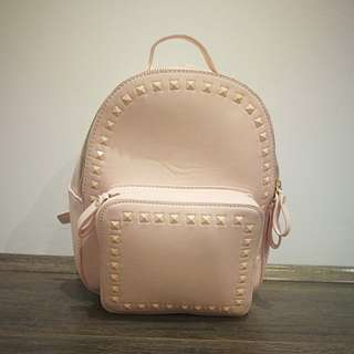 Cute, Pink Backpack with Studs