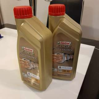 Castrol Edge Professional 5W-40 engine oil for Volkswagen etc