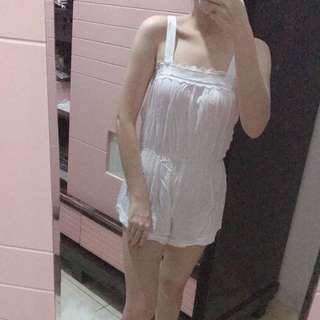 Wearstatuquo pyjama white S