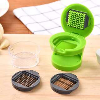 Innovative Mini Press Garlic Chopper