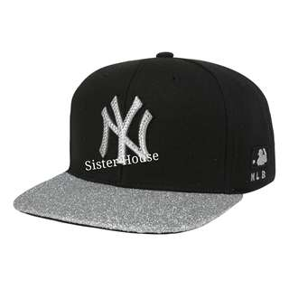 🇰🇷MLB New York Black Cap 黑色紐約帽