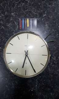 Wempe ship clock vintage