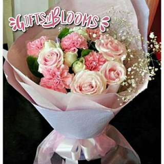 Fresh Flower Bouquet Surprise for Special Anniversary Birthday Gift V10 - GRXVC