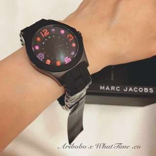🚚 轉賣**Marc Jacobs**黑色繽紛⌚️