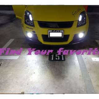 S2 COB LED 6500k headlight super white on Swift foglight - cash&carry ONLY AT MY convenience location