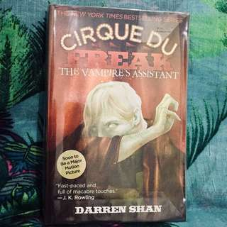 📖 Cirque du Freak - The Vampire's 🧛‍♀️ Assistant