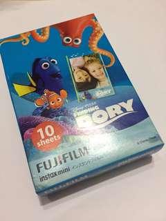 包郵全新fujifilm Instax Mini即影即有相紙finding Dory instant photo paper mo仔 海底奇兵 拍立得