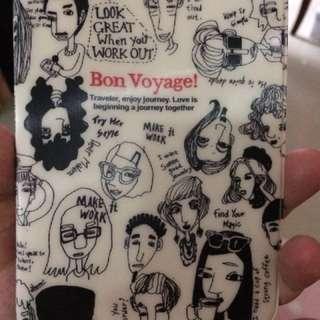 Bon voyage pasport case sampul paspor