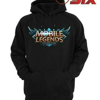 Jaket hoodie Mobile Legends