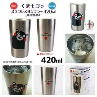 日本🇯🇵 熊本熊KUMAMON真空斷熱杯