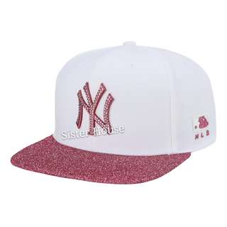🇰🇷MLB New York White Cap 白色紐約帽