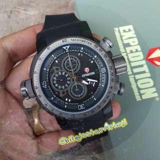 Expedition E6335 Airborne Tali Karet Full Black Original