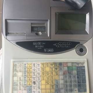 Casio Cashier machine